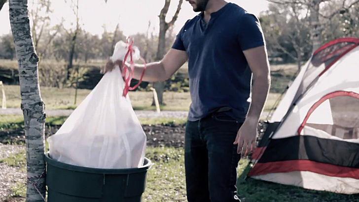 çadır çöp torbası 4