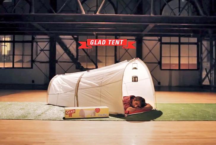 çadır çöp torbası