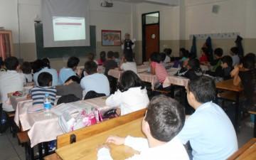 AHDER'in Yıldızlı Gönüllüleri, çocuklara çevre bilinci aşılıyor