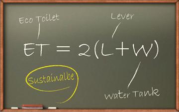 Su tüketimini azaltan çevre dostu tuvalet tasarımı