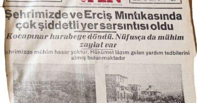Son 100 yılda Türkiye'de meydana gelen büyük depremler