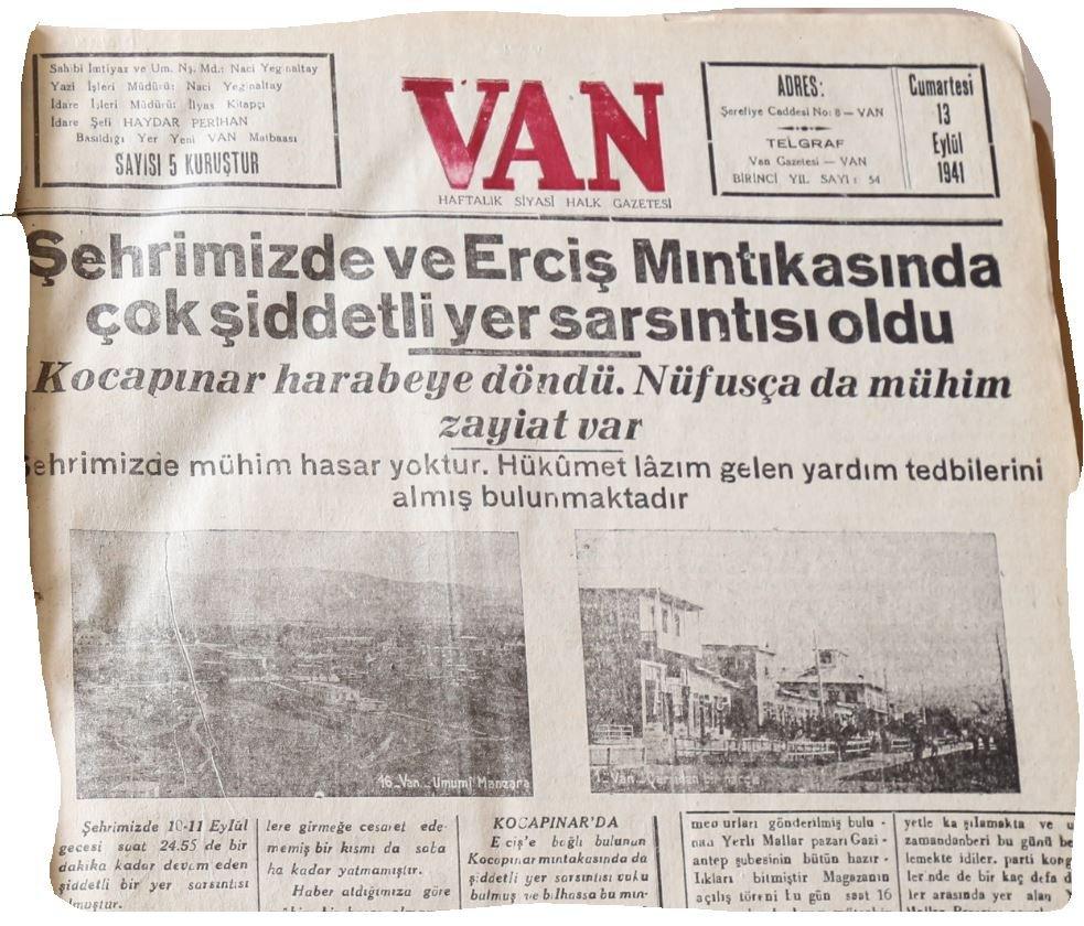 Son 100 yılda Türkiye'de meydana gelen büyük depremler... Binlerce kişi öldü, şehirler yerle bir oldu