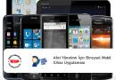Afet Yönetimi İçin Bireysel Mobil Cihaz Uygulaması