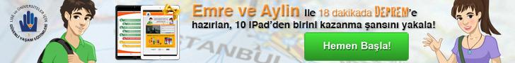 Türkiye'nin ilk interaktif deprem eğitimi
