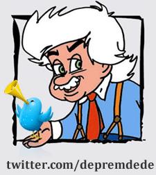 Çocukların sevgili Deprem Dedesi Twitter'dan son depremleri bildiriyor