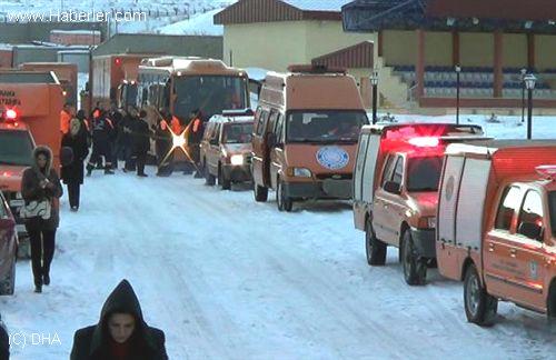 Erzurum'da deprem tatbikatı