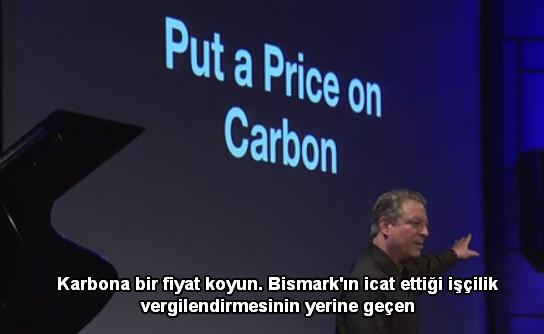 karbonu fiyatlandırın