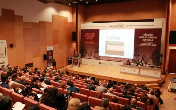 Kültür mirasının korunmasına yönelik  Türk–İtalyan işbirliği sempozyumu gerçekleştirildi