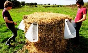 saman balyaları psiuvar ve çevre dostu kompost